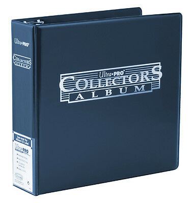 ULTRA PRO BLUE 3 Ring Album Binder for Coins Banknotes Stamps Collectible Pages