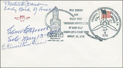 Martin F. Scanlon - Commemorative Envelope Signed With Co-Signers