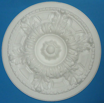 Ceiling Rose Lightweight Polystyrene - Size 445mm 'Country Splendour' *FREE P&P*