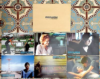 2000 REQUIEM FOR A DREAM Jared Leto Jennifer Connelly Lobby Cards set