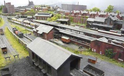 METCALFE ready cut card kits OO Gauge 1:76th. TOWN & COUNTRY/ INDUSTRIAL BUILD