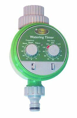 Electronic automatic garden water irrigation system with water timer controller