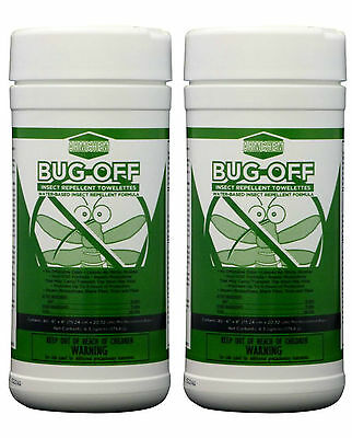 Armchem's Bug-Off Wipes (2 Pack) Insect Insect Repellant