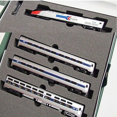 Kato 106-6286-2 N Amfleet P42 40th Anniversary Phase II locomotive + 3 Car Set
