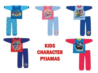 Toddler Baby Boys Girls Character Pyjamas Sleepwear Nightwear - Disney