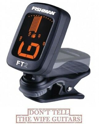 FISHMAN FT-2 Chromatic Clip On Acoustic Guitar Tuner ACC-TUN-FT2 ( BOX DAMAGE )