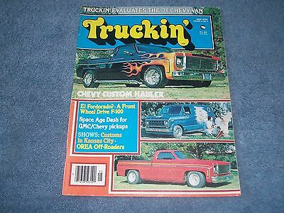May 1978 Truckin' Magazine '78 Chevy Van Evaluated FWD F-100