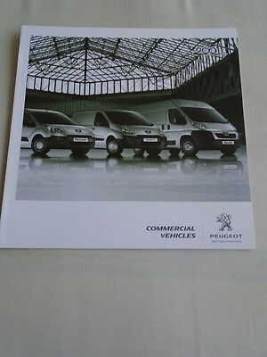 Peugeot Commercial Vehicles range brochure 2010 South African market English tex