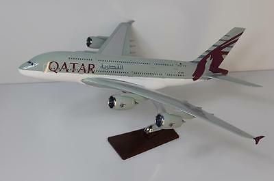 Large Model Aircraft Solid Resin/Emirates/Qatar/British/American/
