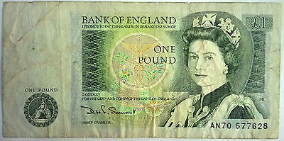 One Pound Note with Isaac Newton | Bank of England