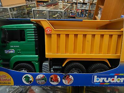 Bruder 1:16 scale M.A.N. Tip Truck  for age 3+