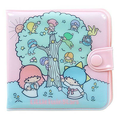 NEW Sanrio Little Twin Stars vinyl wallet kiki Lala kawaii F/S Gift Retro Type