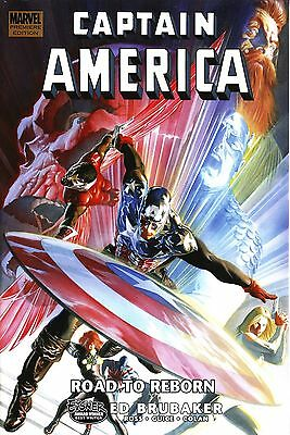Lot of 2 Captain America : Reborn & Road to Reborn HC Hard Cover NEW Sealed !