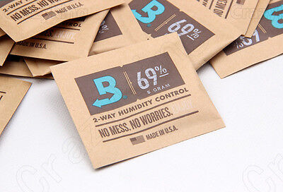 Small Size 69% Boveda 8 Gram 2-Way Humidity Control Humidipak Humidifier