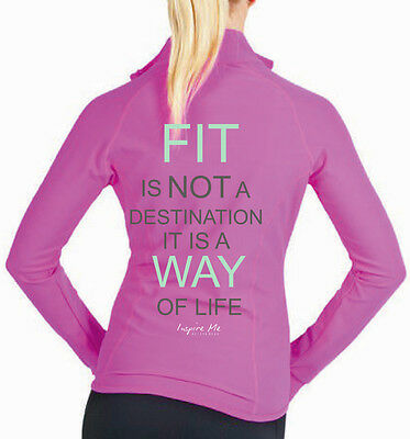 **inspire Me***ladies Fitness Jacket...fit Destination..all Sizes Avail
