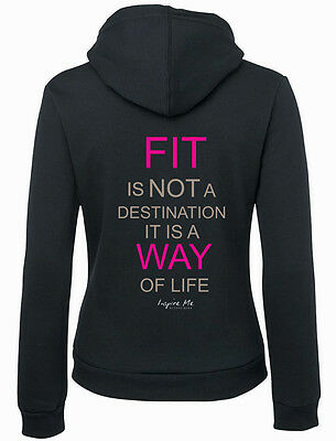 **inspire Me***ladies Hoodie..fit Destination  All Sizes Avail