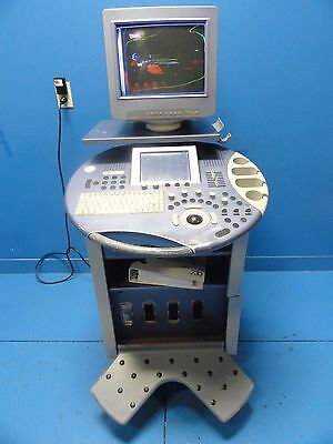 GE KERTZ VOLUSON 730 ULTRASOUND SYSTEM W/ MANUAL~Console Only ~for Parts (10567)