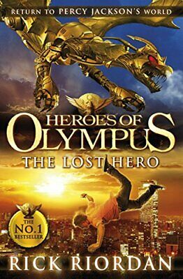 The Lost Hero (Heroes of Olympus Book 1) by Riordan, Rick Book The Cheap Fast