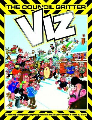 Viz: The Council Gritter (Annual) by Viz Hardback Book The Cheap Fast Free Post