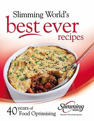 Best ever recipes: 40 years of Food Optimising by Slimming World Hardback Book