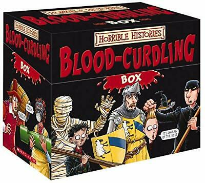 Horrible Histories: Blood-Curdling Box by Deary, Terry Paperback Book The Cheap