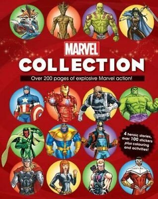 The Complete Marvel Collection Book The Cheap Fast Free Post