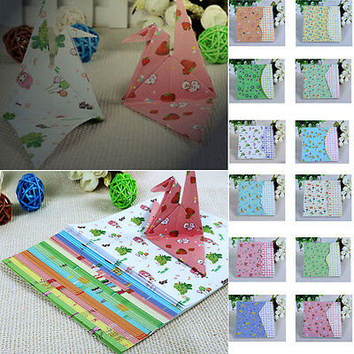 72 Sheets 15*15cm Mixed Color Square Origami Folding Paper One Sided DIY Craft