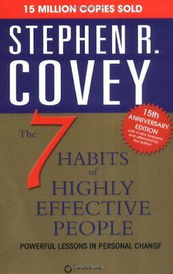The 7 Habits of Highly Effective People, Covey, Stephen R. Paperback Book The