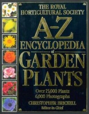 RHS A-Z Encyclopedia of Garden Plants by Christopher Brickell Hardback Book The