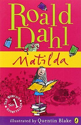 Matilda, Dahl, Roald Paperback Book The Cheap Fast Free Post