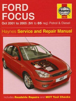 Ford Focus Petrol and Diesel Service and Repair ... by Randall, Martynn Hardback