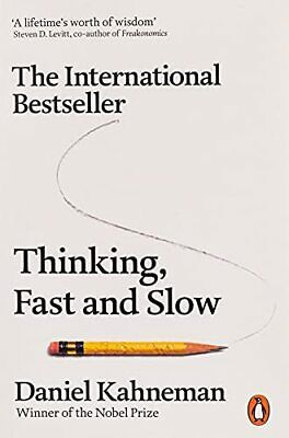 Thinking, Fast and Slow by Kahneman, Daniel Book The Cheap Fast Free Post