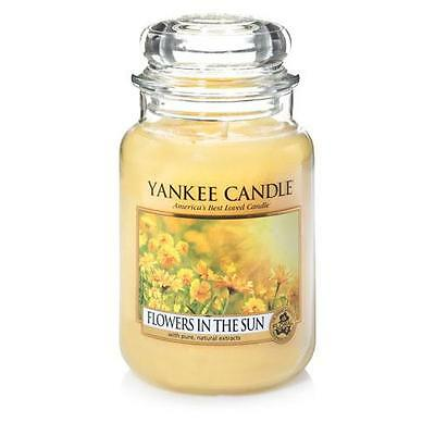 Yankee Candle Flowers in the Sun Large Jar Scented Candle