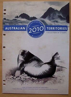 The Australian Territories 2010 Collection-Antarctic-Christmas Island-Cocos