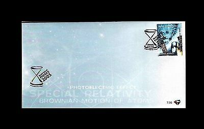 South Africa 2005. Year of Physics FDC