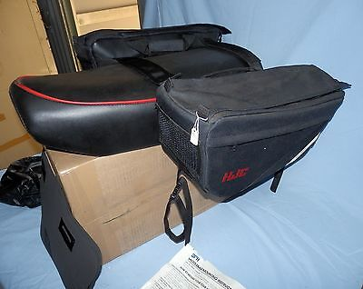 Hjc Tour Master Motorcycle Saddlebags With Rain Covers