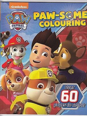 Paw Patrol Paw-Some Colouring Book - New Book