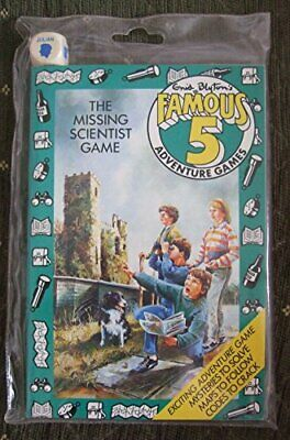 The Missing Scientist Game (Famous Five Adventure G... by Blyton, Enid Paperback