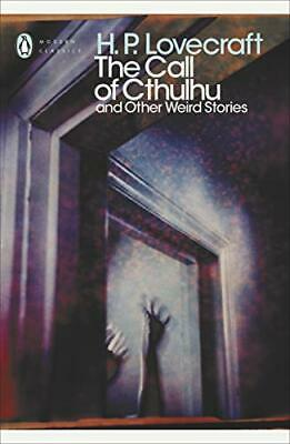The Call of Cthulhu and Other Weird Stories by H. P. Lovecraft Paperback Book