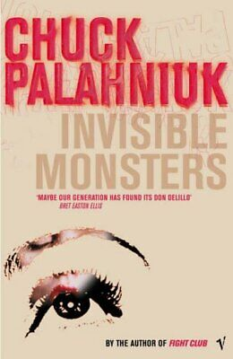 Invisible Monsters by Palahniuk, Chuck Paperback Book The Cheap Fast Free Post