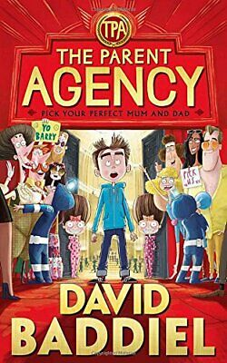 The Parent Agency by Baddiel, David Book The Cheap Fast Free Post