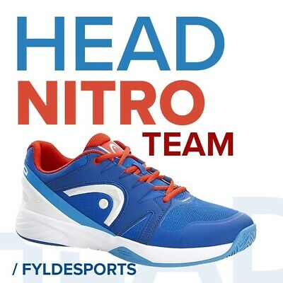 Head Nitro Team Tennis/ Indoor Shoes / Trainers - Blue