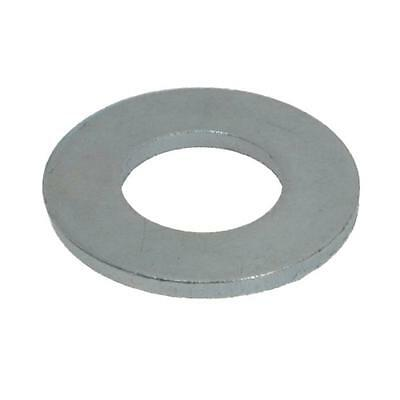 Qty 100 Flat Washer M10 (10mm) x 21mm x 1.6mm Metric Engineers Round Zinc Plated