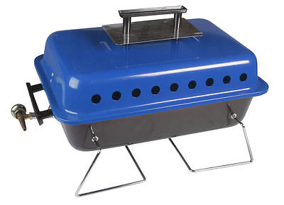 Kampa Bruce Portable Compact Gas Barbecue BBQ With Folding Legs