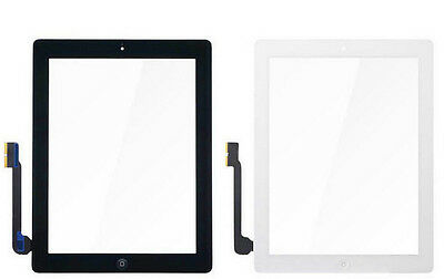New Touch Screen Digitizer Glass +Adhesive For ipad 4 4th A1458 A1459 A1460