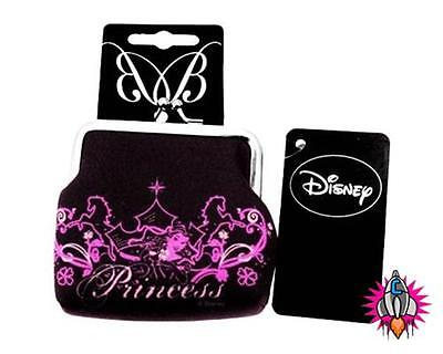 Official Disney Princess Dreams Come True Coin Clip Wallet Purse New With Tags