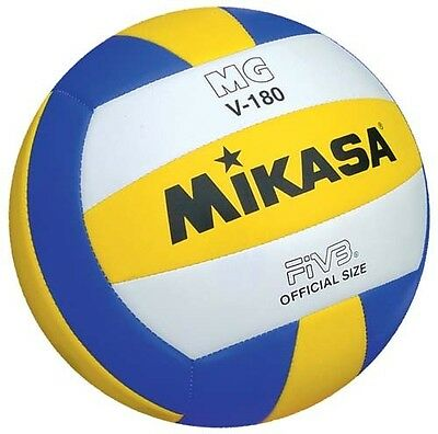 Mikasa MGV180 Volleyball Official Size FIVB Top Caliber Competition Net Ball