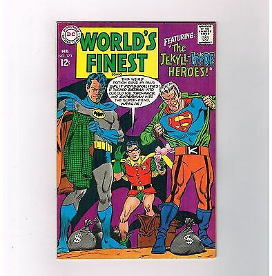 WORLD'S FINEST #173 Grade 9.2 DC find! 1st TWO-FACE Silver Age appearance!