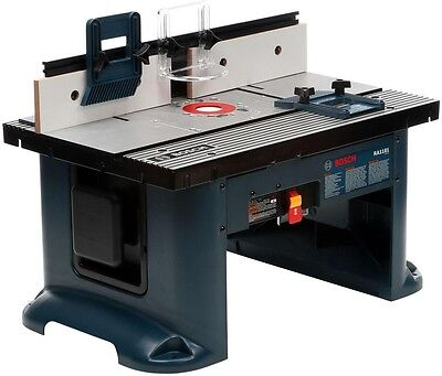 Corded 120 Volt 27 In. X 18 In. Benchtop Router Table Woodworking Work Bench New