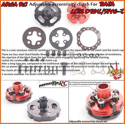 1/5 Baja Eccentricity Adjustable Clutch by Area fit HPI 5B 5T SC PRC KM Rovan